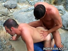 Matt added to Eric Bareback Have sex close to Cum Canyon