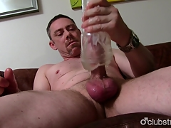 Sexy Undeceiving Daddy Tucker Masturbating