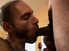 Hot Interracial Delighted Threesome Action