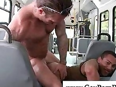 White gleam fucks deathly hunk anal