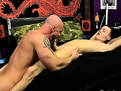 Uncaring fuck After Chris gargles his cock, Mitch gets a taste of