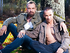 Rodney Steele & Max Sargent concerning Hot Daddies, Scene 03 - IconMale