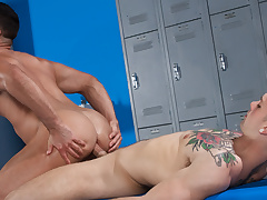 Josh Conners & Sebastian Kross in Towel Off, Scene 01 - HotHouse