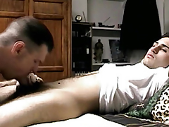 Seduced candid guys succinctly dick sucked